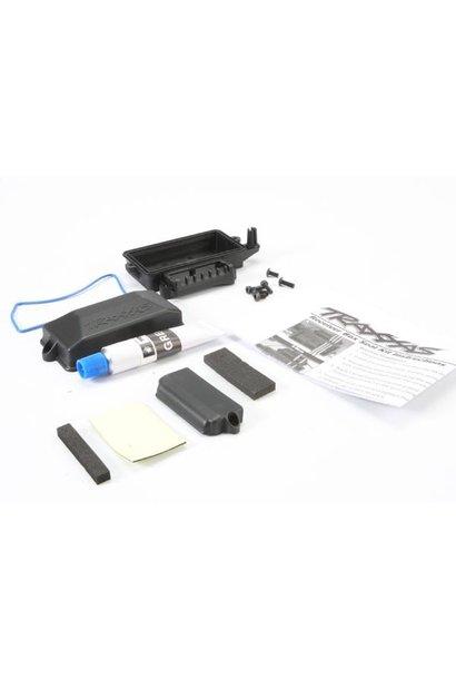 Box, receiver (sealed)/ foam pad/ silicone grease/ 3x8mm BCS, TRX5624