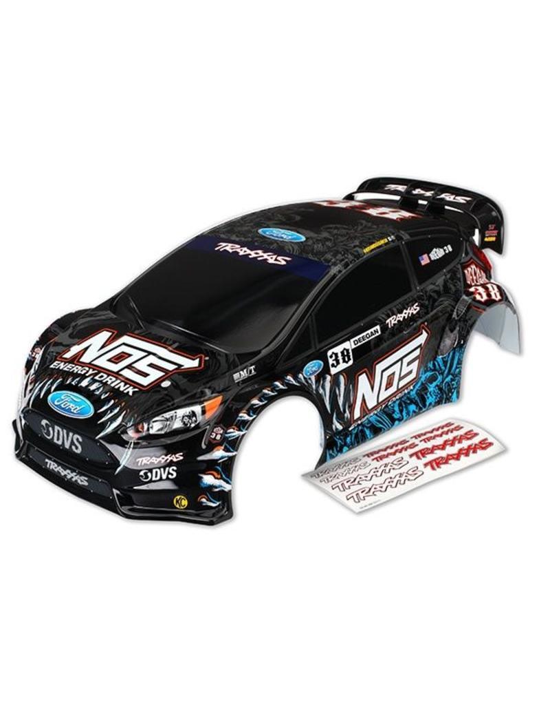 Traxxas Body, Ford Fiesta ST Rally, Brian Deegan (painted, decals ap