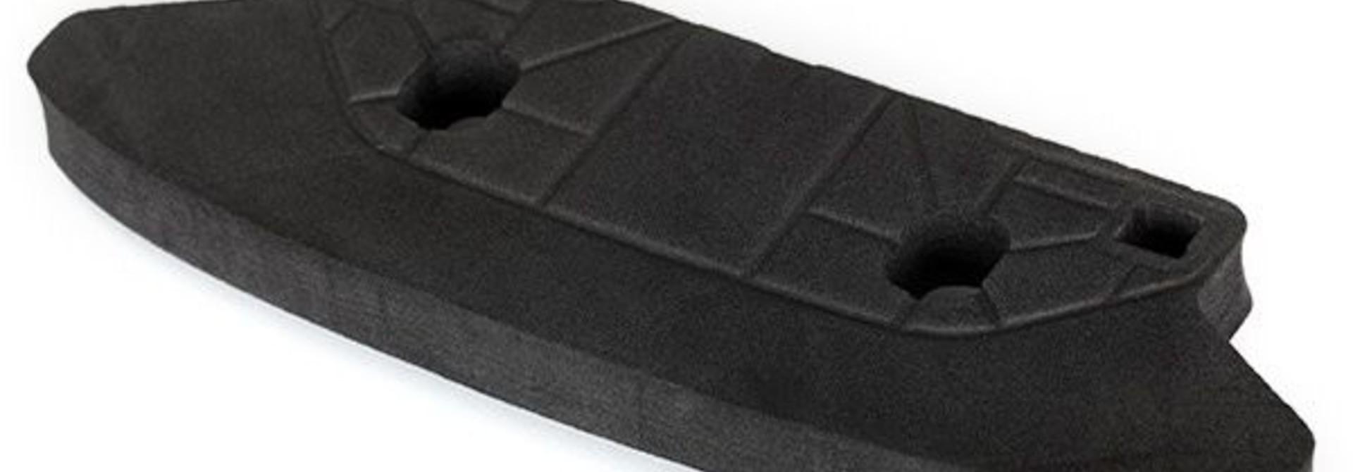 Body bumper, foam (low profile) (use with #7435 front skidpl, TRX7434