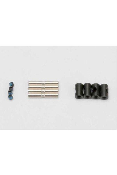Cross pin (4)/ drive pin (4)/ set screw (4) (to rebuild 2 dr, TRX5657