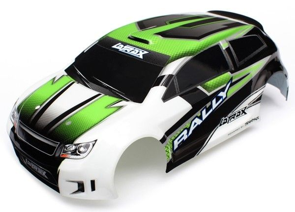 Body, 1/18Th Rally, Green Body, 1/18Th R, TRX7513-1