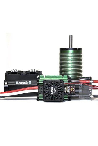 Castle - Mamba XLX - Combo - 1-5 Extreem Car regelaar met 2028-800 Sensorless motor