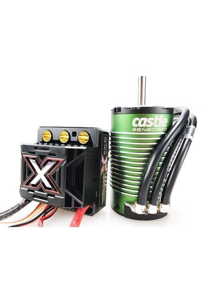Castle - Mamba Monster X - Combo - 1-8 Extreem Car regelaar met 1512-2650 Sensored Motor