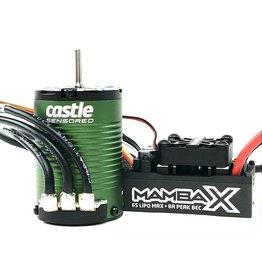 Castle Creations Castle - Mamba X SCT - Combo - 1-10 Extreem SCT regelaar met 1410-3800 Sensored Motor