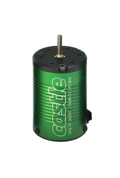 Castle - Brushless motor 1410 - 3800KV - 4-Polig - Sensorless