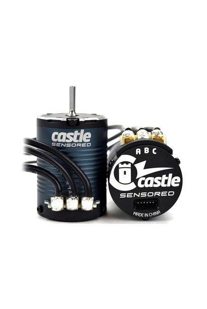 Castle - MOTOR, 4-POLE SENSORED BRUSHLESS, 1406-3800KV