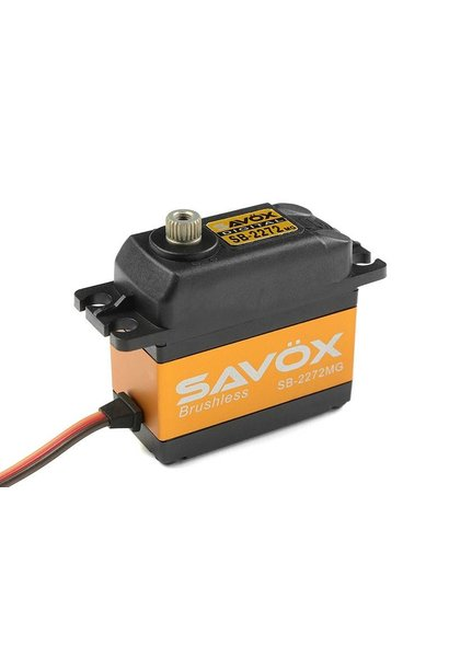 Savox - Servo - SB-2272MG - Digital - High Voltage - Brushless Motor - Metaal tandwielens