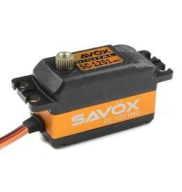 Savöx Savox - Servo - SC-1251MG - Digital - Coreless Motor - Metaal tandwielen
