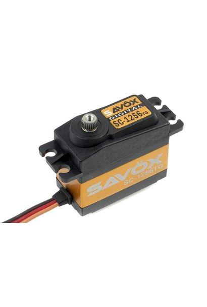 Savox - Servo - SC-1256TG - Digital - Coreless Motor - Titanium tandwielen