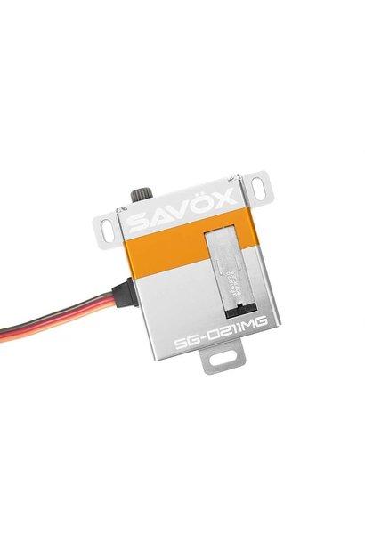 Savox - Servo - SG-0211MG - Digital - Coreless Motor - Metaal tandwielen