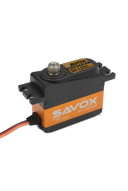 Savox - Servo - SV-1250MG - Digital - High Voltage - Coreless Motor - Metaal tandwielen