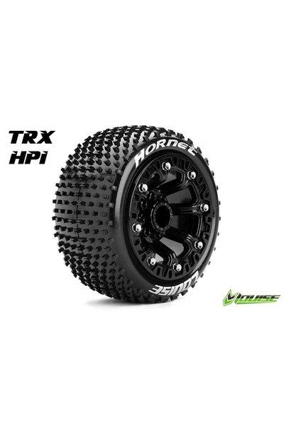 Louise RC - ST-HORNET - 1-16 Truck Tire Set - Mounted - Sport - Black 2.2 Rims - Hex 12mm - L-T3172SB