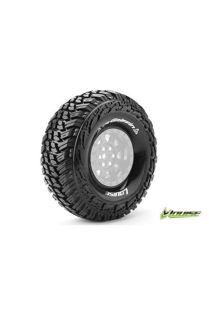 Louise RC - CR-GRIFFIN - 1-10 Crawler Tires - Super Soft - for 1.9 Rims - L-T3230VI