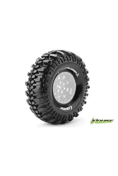 Louise RC - CR-CHAMP - 1-10 Crawler Tires - Super Soft - for 1.9 Rims - L-T3231VI