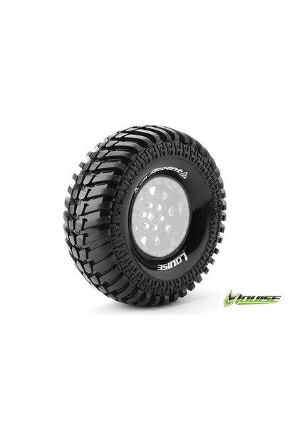 Louise RC - CR-ARDENT - 1-10 Crawler Tires - Super Soft - for 1.9 Rims - L-T3232VI