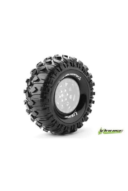 Louise RC - CR-ROWDY - 1-10 Crawler Tires - Super Soft - for 1.9 Rims - L-T3233VI