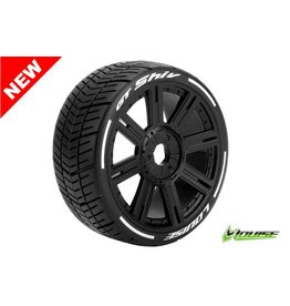Louise RC Louise RC - MFT - GT-SHIV - 1-8 Buggy Tire Set - Mounted - Soft  - Black Spoke Rims - Hex 17mm - L-T3284SB