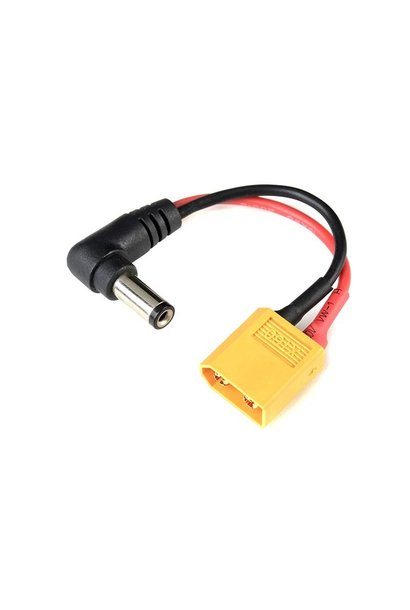Revtec - Batterij adapterkabel - Fatshark > XT-60 Connector vrouw. - 6cm - 1 st