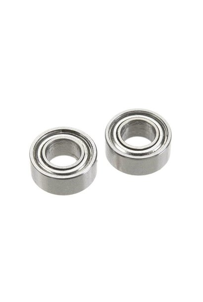 Revtec - Kogellager - Chroom staal - ABEC 3 - Metaal Dichting - 3X6X2,5 - MR63ZZ - 2 st