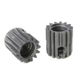 Team Corally Team Corally - 48 DP Motortandwiel - Kort - Hard geanodiseerd AL7075 - 14 Tanden - Motoras dia. 3.17mm