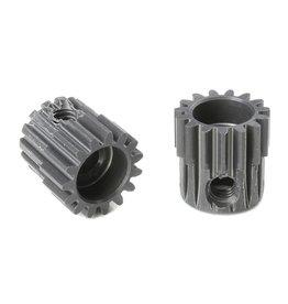 Team Corally Team Corally - 48 DP Motortandwiel - Kort - Hard geanodiseerd AL7075 - 15 Tanden - Motoras dia. 3.17mm