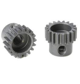 Team Corally Team Corally - 48 DP Motortandwiel - Kort - Hard geanodiseerd AL7075 - 18 Tanden - Motoras dia. 3.17mm