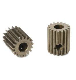 Team Corally Team Corally - 64 DP Motortandwiel - Kort - Gehard staal - 17 Tanden - Motoras dia. 3.17mm