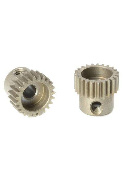 Team Corally - 64 DP Motortandwiel - Kort - Gehard staal - 23 Tanden - Motoras dia. 3.17mm