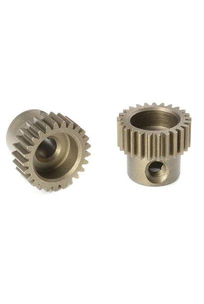 Team Corally - 64 DP Motortandwiel - Kort - Gehard staal - 25 Tanden - Motoras dia. 3.17mm