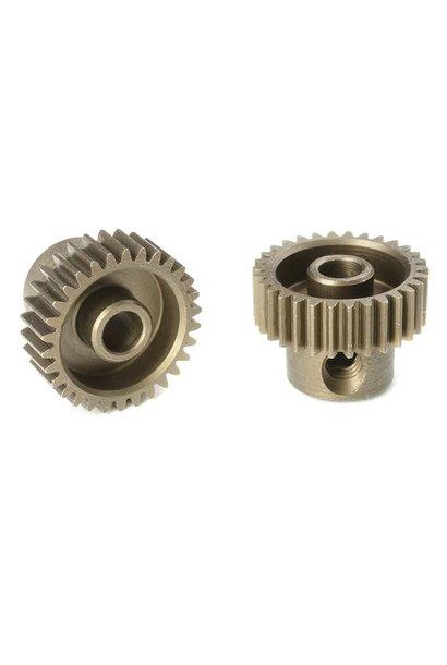 Team Corally - 64 DP Motortandwiel - Kort - Gehard staal - 30 Tanden - Motoras dia. 3.17mm