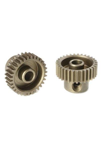 Team Corally - 64 DP Motortandwiel - Kort - Gehard staal - 31 Tanden - Motoras dia. 3.17mm