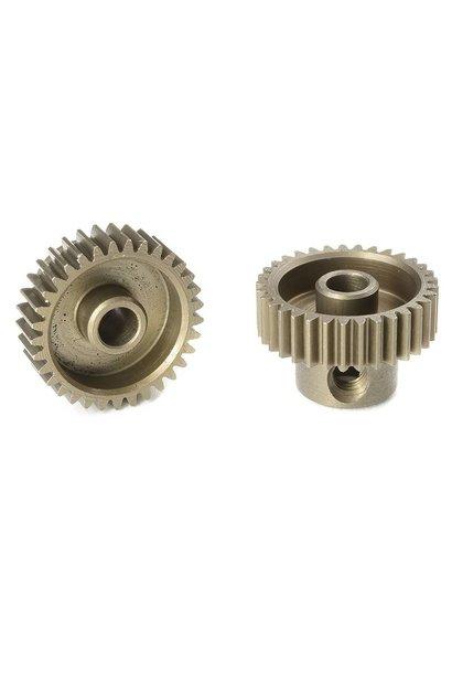 Team Corally - 64 DP Motortandwiel - Kort - Gehard staal - 33 Tanden - Motoras dia. 3.17mm