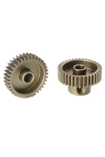 Team Corally - 64 DP Motortandwiel - Kort - Gehard staal - 36 Tanden - Motoras dia. 3.17mm