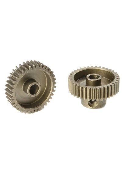 Team Corally - 64 DP Motortandwiel - Kort - Gehard staal - 37 Tanden - Motoras dia. 3.17mm