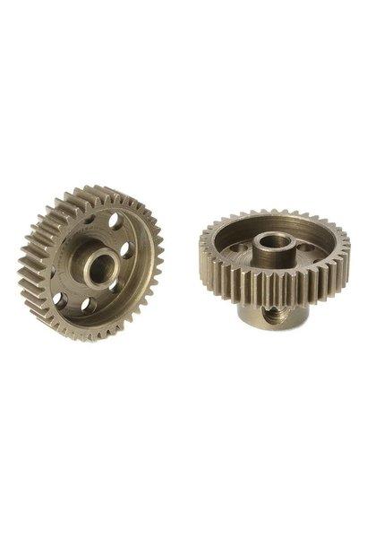 Team Corally - 64 DP Motortandwiel - Kort - Gehard staal - 39 Tanden - Motoras dia. 3.17mm