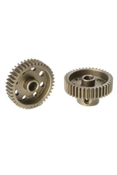 Team Corally - 64 DP Motortandwiel - Kort - Gehard staal - 40 Tanden - Motoras dia. 3.17mm