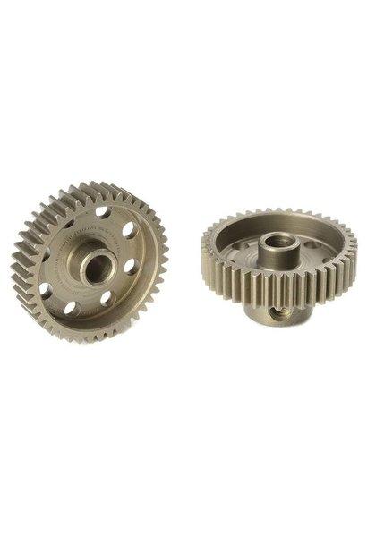 Team Corally - 64 DP Motortandwiel - Kort - Gehard staal - 42 Tanden - Motoras dia. 3.17mm