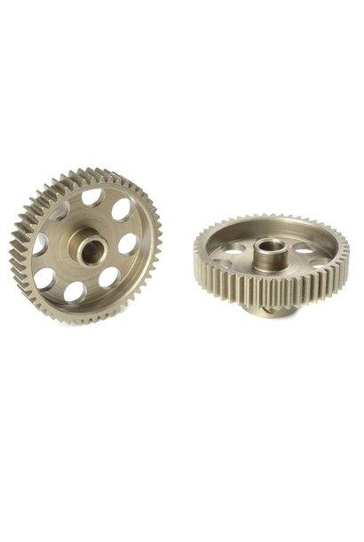 Team Corally - 64 DP Motortandwiel - Kort - Gehard staal - 50 Tanden - Motoras dia. 3.17mm