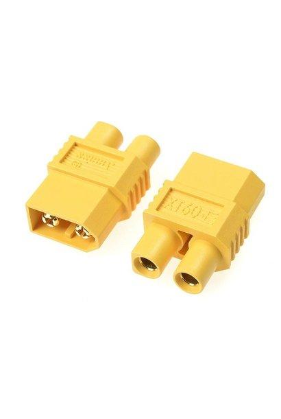 Revtec - Power adapterconnector - XT-60 connector man.  EC-3 connector man. - 2 st