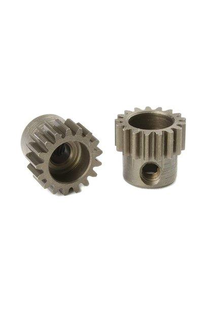 Team Corally - 48 DP Motortandwiel - Kort - Gehard staal - 17 Tanden - Motoras dia. 3.17mm