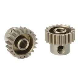 Team Corally Team Corally - 48 DP Motortandwiel - Kort - Gehard staal - 20 Tanden - Motoras dia. 3.17mm