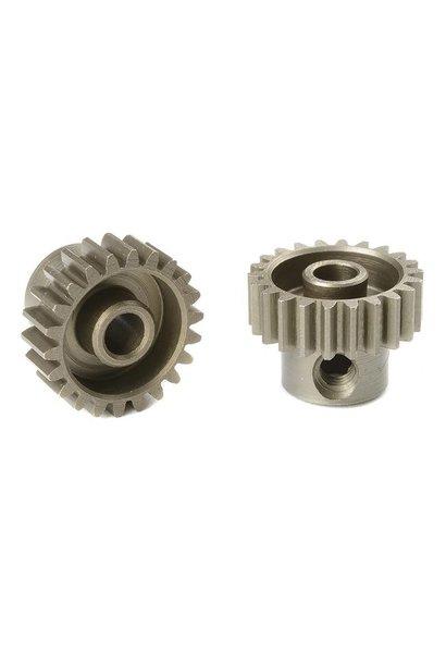 Team Corally - 48 DP Motortandwiel - Kort - Gehard staal - 22 Tanden - Motoras dia. 3.17mm
