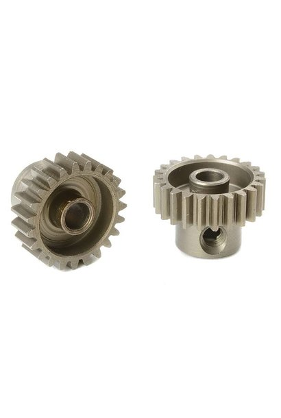 Team Corally - 48 DP Motortandwiel - Kort - Gehard staal - 23 Tanden - Motoras dia. 3.17mm