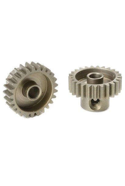 Team Corally - 48 DP Motortandwiel - Kort - Gehard staal - 25 Tanden - Motoras dia. 3.17mm
