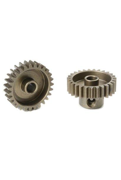 Team Corally - 48 DP Motortandwiel - Kort - Gehard staal - 27 Tanden - Motoras dia. 3.17mm