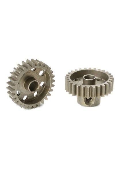 Team Corally - 48 DP Motortandwiel - Kort - Gehard staal - 28 Tanden - Motoras dia. 3.17mm