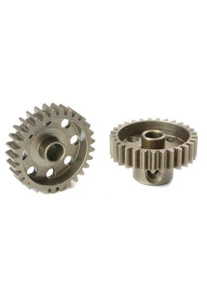 Team Corally - 48 DP Motortandwiel - Kort - Gehard staal - 29 Tanden - Motoras dia. 3.17mm