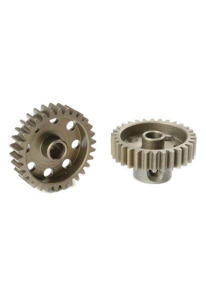 Team Corally - 48 DP Motortandwiel - Kort - Gehard staal - 30 Tanden - Motoras dia. 3.17mm