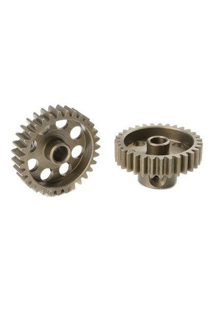 Team Corally - 48 DP Motortandwiel - Kort - Gehard staal - 31 Tanden - Motoras dia. 3.17mm