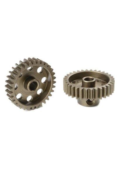 Team Corally - 48 DP Motortandwiel - Kort - Gehard staal - 32 Tanden - Motoras dia. 3.17mm